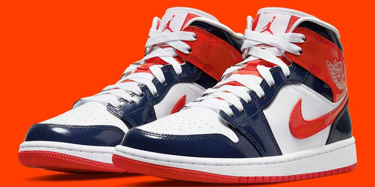 "DJ5984-400 Air Jordan 1 Mid Takes A ""Champ Colors"" will be released soon"