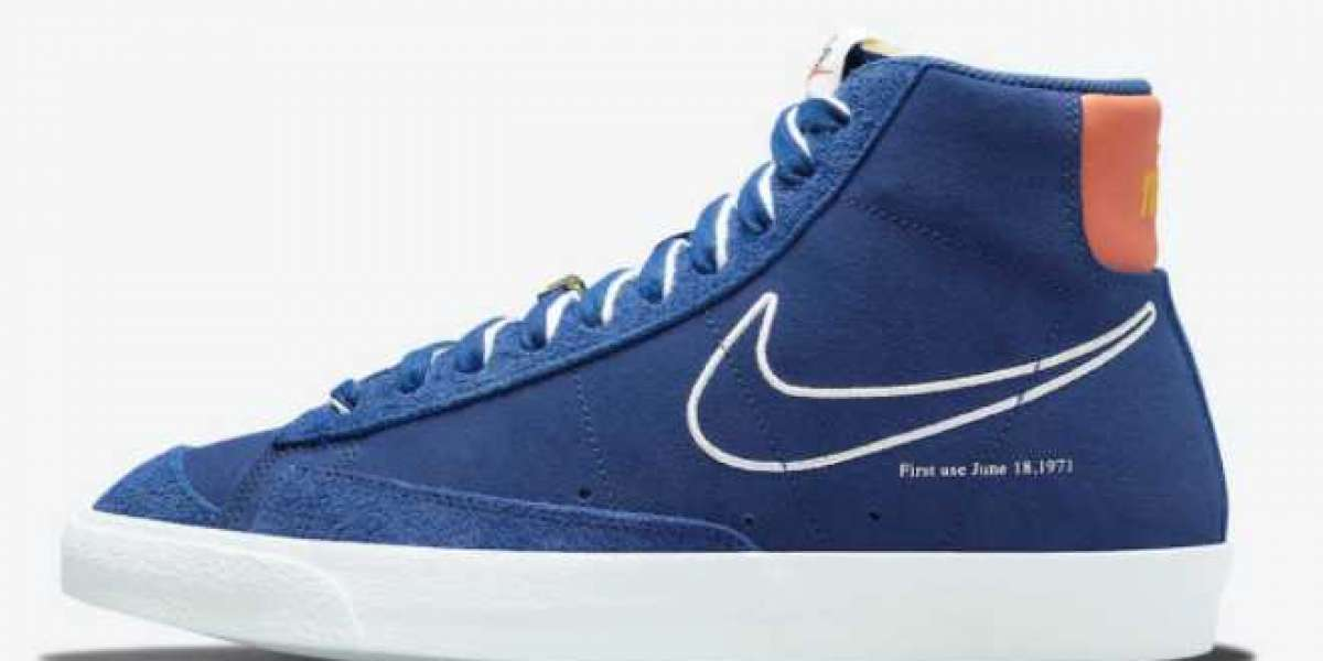 "2021 Most Popular Nike Blazer Mid '77 ""First Use"" For Sale DC3433-400"